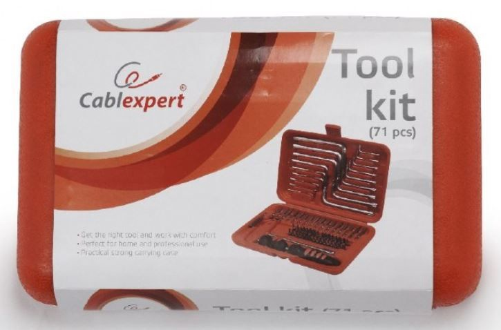 Gembird Tool Kit TK-PRO 71pcs