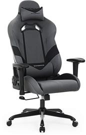 Spēļu krēsls Songmics Racing Chair Grey/Black, melna/pelēka