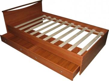 Кровать Borovichi Mebel Melissa Cherry, 140 x 200 cm