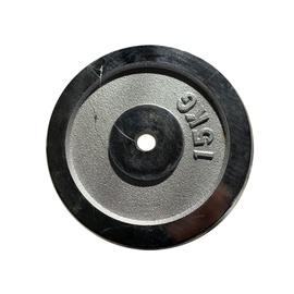 Diskinis svoris grifui LS2111, chromuotas, 15 kg
