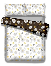 Комплект постельного белья AmeliaHome, многоцветный, 135x200