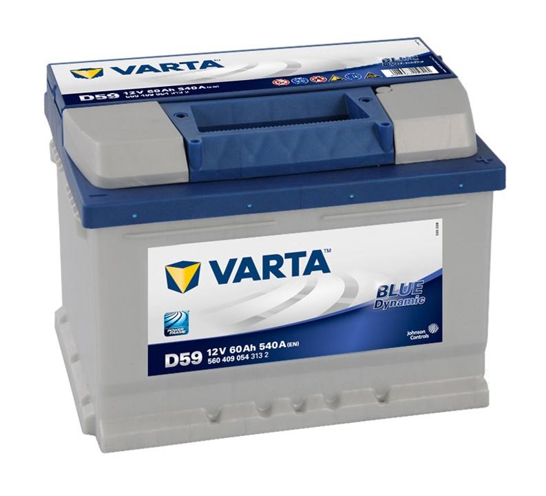 Аккумулятор Varta BD D59, 12 В, 60 Ач, 540 а
