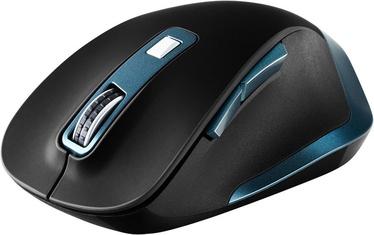 Kompiuterio pelė Canyon CNS-CMSW14DG Black/Blue, bevielė, optinė
