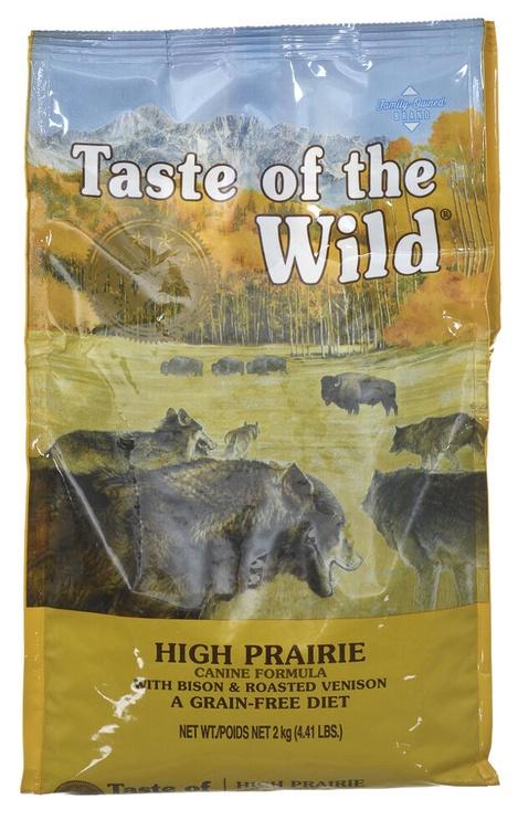 Taste of the Wild High Prairie Dry Food 2kg