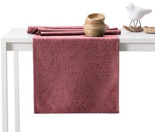 AmeliaHome Gaia AH/HMD Tablecloth Set Oldrose 115x250cm/35x250cm 2pcs