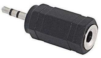Roger 2.5mm To 3.5mm Audio Adapter Black