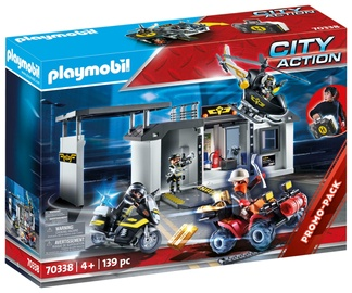 Konstruktorius playmobil 70338 būrio būstinė