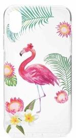 Mocco Summer Flamingo Case For Samsung Galaxy S8 Plus Transparent