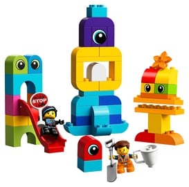 Konstruktorius LEGO Duplo Emmet and Lucy's Visitors from the DUPLO® Planet 10895