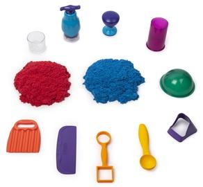 Kinētiskās smiltis Spin Master Sandisfying Set, 907 g