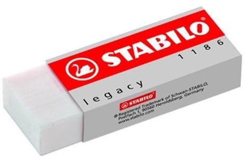 Stabilo Eraser Legacy White