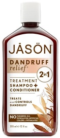 Jason Natural Products Shampoo And Conditioner Treatment Dandruff Relief 335ml