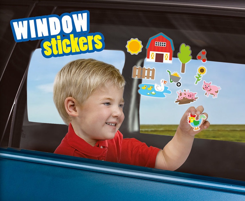 SES Creative Window Stickers Farm 14271