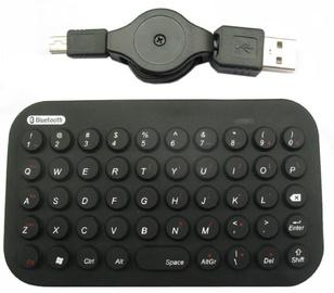 Клавиатура Gembird KB-BTF2-B-US EN, черный