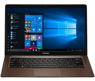Prestigio SmartBook 141 C3 2/32GB W10H ENG/RUS Dark Brown
