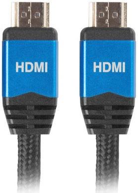 Lanberg HDMI Cable Premium V2.0 Black 1m