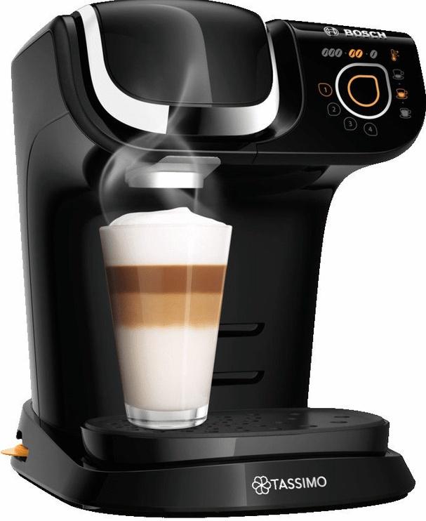 Kapsulas kafijas automāts Bosch My Way 2, melna
