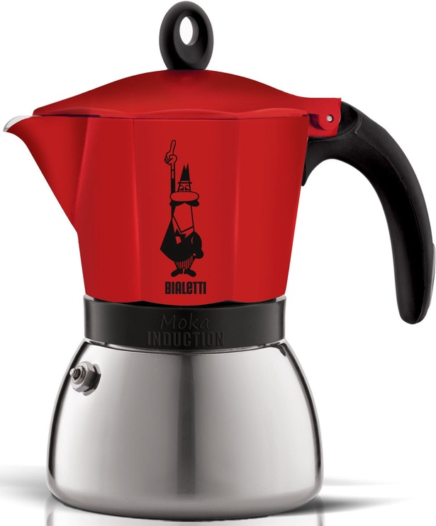 Bialetti Moka Induction Red 6 cups