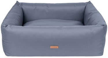 Кровать для животных Amiplay Country ZipClean L, серый