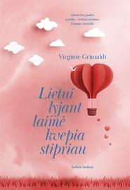 Knyga Lietui lyjant laimė kvepia stipriau