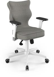 Entelo Perto White Office Chair TW03 Gray