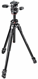 Manfrotto 290 Dual Aluminium 3-Section Tripod Kit MK290DUA3-3W