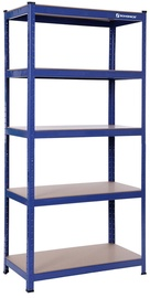 Songmics Storage Shelf Blue 180x90x45cm