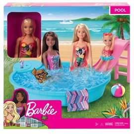 Mattel Barbie Doll And Playset GHL91