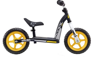 Balansinis dviratis Scool PedeX Easy 10 Black Yellow