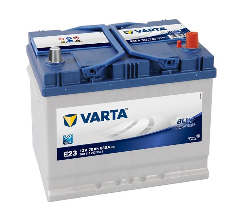 Akumulators Varta BD E23, 70 Ah, 630 A, 12 V