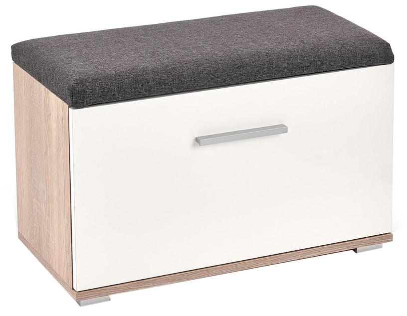 Apavu plaukts Halmar Lima ST2 Sonoma Oak/White, 700x320x450 mm