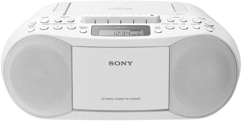 Magnetoola Sony CFD-S70 White, 3 W, valge