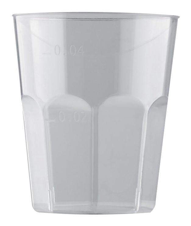 Vienkartiniai stikliukai, 50 ml, 10 vnt