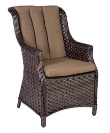 Home4you Geneva Garden Chair Dark Brown
