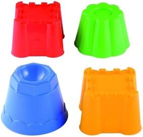 Smėlio žaislų rinkinys Ecoiffier 8/168S, 4 vnt.