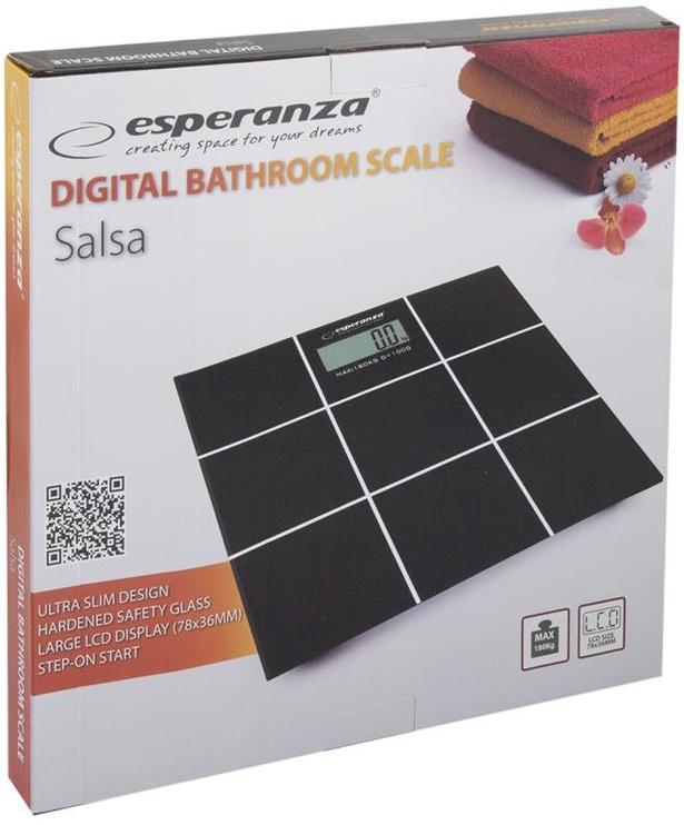 Svarstyklės Esperanza Salsa EBS004 Black