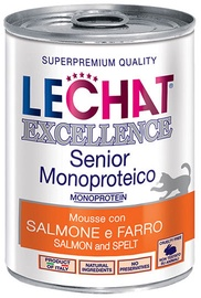 Monge LeChat Excellence Senior With Salmon & Spelt 400g