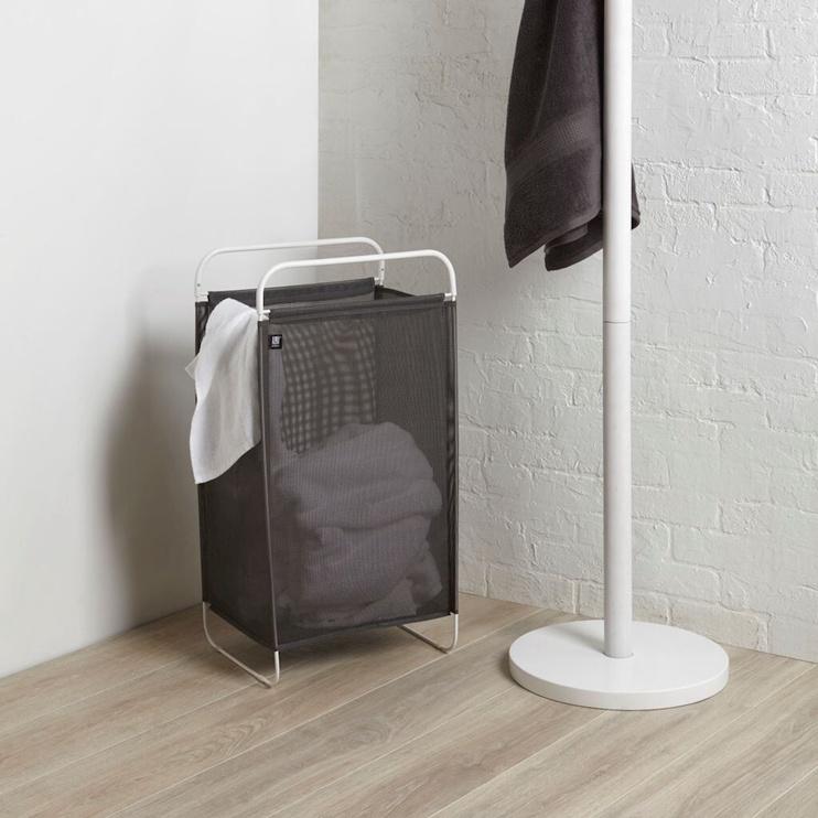 Umbra Cinch Laundry Hamp Grey/White
