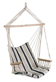 Home4you Hip Cotton Hanging Chair White/Blue