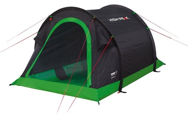 Palapinė High Peak Stella 2 Black/Green 10131