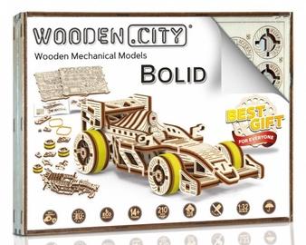 Wooden City Wooden Mechanical Models Bolid 108pcs