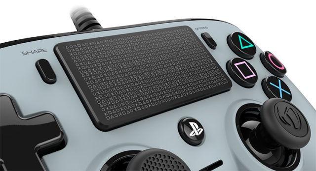 Игровой контроллер Bigben Nacon Compact Controller Wired Grey