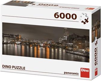 Dėlionė Dino Panoramic London At Night, 6000 dalių