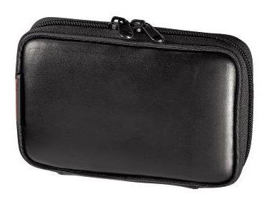"Hama Sat Nav Case 4.3"" Leather Black"