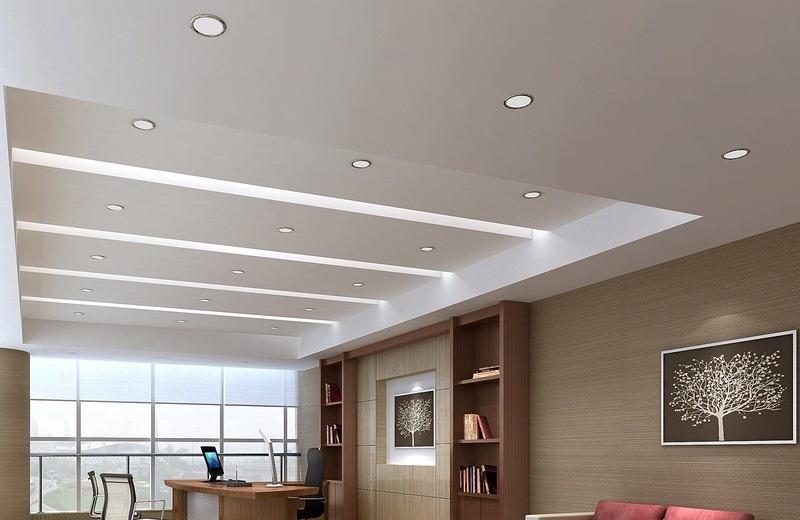 Įmontuojamas šviestuvas Tope Split R NW, 8W, LED, 4000K