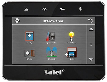 Satel INT-TSG-BSB Touchscreen Keypad