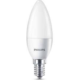 LED LAMP PHIL B35 5.5W E14 2700K 470LM M
