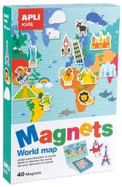 Apli Kids Magnets World Map 16494