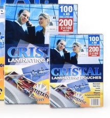 Cristal Laminating Puches A6 100pcs