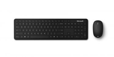 Клавиатура Microsoft 1AI-00011 EN/RU, черный, беспроводная